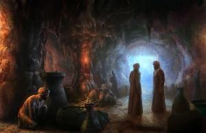 Ali Baba cave (Pinterest)