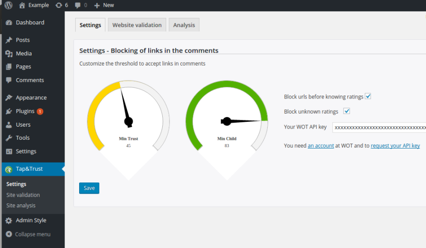 Wordpress Plugin_new_settings_1