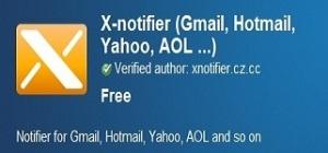 X-notifier logo